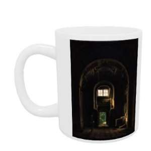 by Louis Jacques Mande Daguerre   Mug   Standard Size Home & Kitchen