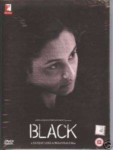 BLACK  AMITABH BACHCHAN RANI  INDIAN MOVIE HINDI DVD
