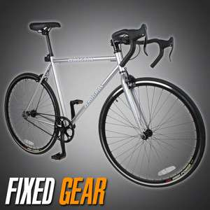 NEW 54cm Track Fixed Gear Bike Fixie Single Speed Road Bicycle