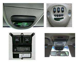 2002 ford f150 f 150 overhead console temperature compass. Black Bedroom Furniture Sets. Home Design Ideas