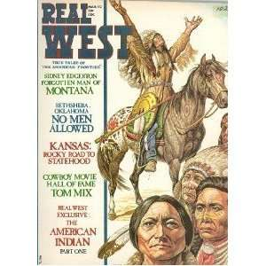 Real West Magazine Mar 1972 Tom Mix American Indian: Everything Else