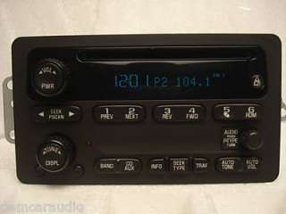 03 06 gmc chevy radio cd gm151 10x10x7 6lb chevy gmc factory oem radio
