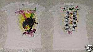 NEW* LADIES GUITAR HERO SHIRT  JUDY NAILS   GIRLS ROCK TOUR   SHIRT