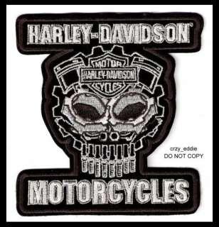 HARLEY DAVIDSON COGNITION SKULL PATCH ** DISCONTINUED **