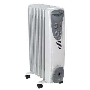 Pelonis 1,500 Watt Portable Electric Oil Filled Radiator Heater