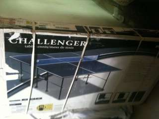 Sportcraft 4 PC Challenger Table Tennis Table / Ping Pong Table
