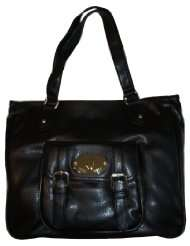 Womens Nine West Purse Handbag Fill Me Up Black