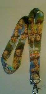 Toy Story 3 Kids Disney Neck Lanyard Holder Pins