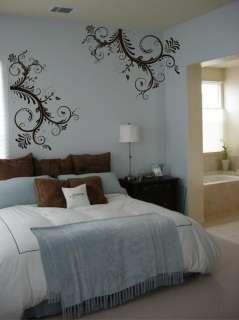 wall decal,swirl wall decal. beautiful wall decal,deco art sticker