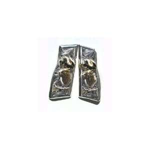 Browning Deer German Silver Pistol Grips: Sports & Outdoors