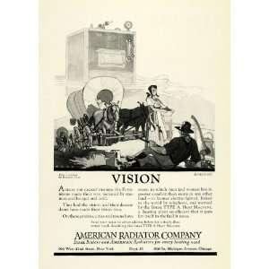 1922 Ad American Radiator Co Conestoga Wagon Heating