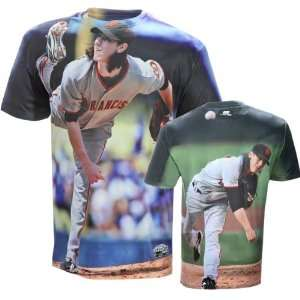 Tim Lincecum San Francisco Giants Hi Def Sublimated Dye