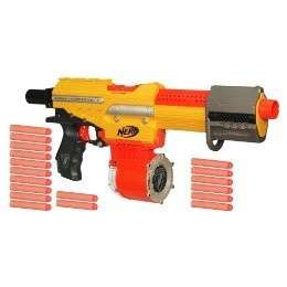 NERF N STRIKE ALPHA TROOPER CS 18 DART DRUM BLASTER