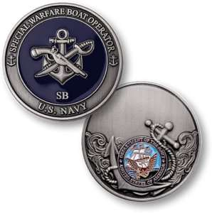 UNITED STATES NAVY SPECIAL WARFARE BOAT OPERATOR  COIN