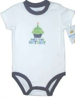 CARTERS BOYS GIRLS BIRTHDAY T SHIRT ONESIE NWT NEW CUTE