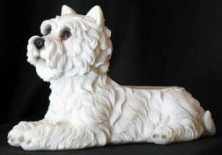 SWEET WESTIE DOGS INDOOR/OUTDOOR HOUSE PLANTER