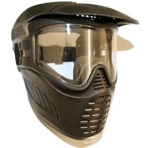 Gen X GXG Stealth Goggles Paintball Mask Anti Fog Single Lens Flex
