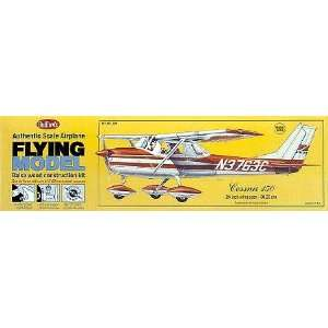Cessna 150 Balsa Model Airplane Guillows: Toys & Games
