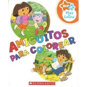 Amiguitos Para Colorear (Nick Jr Play to Learn