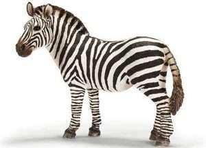 NEW Schleich Wild Life Animals Africa Zebra Female 14392