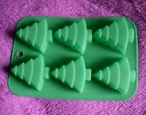 Silicone Mold Cake Moulds Soap Molds Christmas Tree