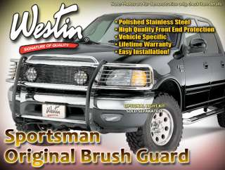 2003 03 Chevy Avalanche Stainless Steel Grill Brush Guard