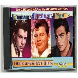 Greatest Hits Frankie Avalon, Ritchie Valens, Fabian Music