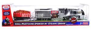 NEW Thomas Friends Tank Engine Train Trackmaster Coal Mustache Spencer