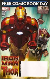 IRON MAN THOR FREE COMIC BOOK DAY 2010 FRACTION ROMITA