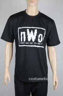 Shirt WRESTLING VINTAGE WCW MENS Black Shirt 100% Cotton