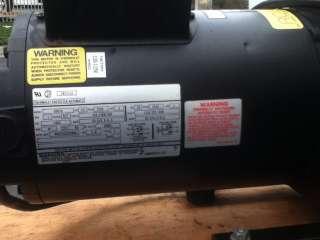 Gast Vacuum Pump 110/220 240V Model # 2567 D121A G561X 1HP ~TESTED A+