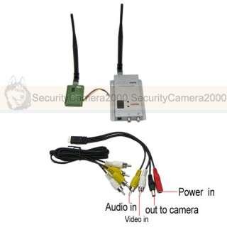 400mw 4CH Wireless, Camera Video Audio, Transmitter Receiver Kit www