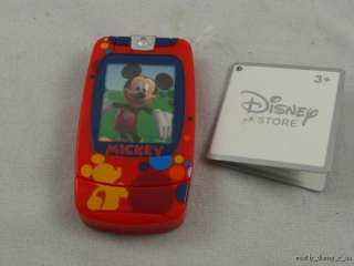 Mickey Mouse Toy Flip Camera Cell Phone