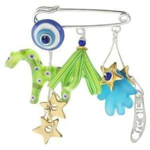 Glass Baby Stroller Pin: Home & Kitchen