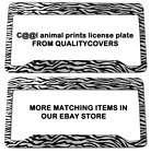 zebra print car seat covers
