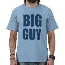 Big Guy t shirt by holiday_tshirts